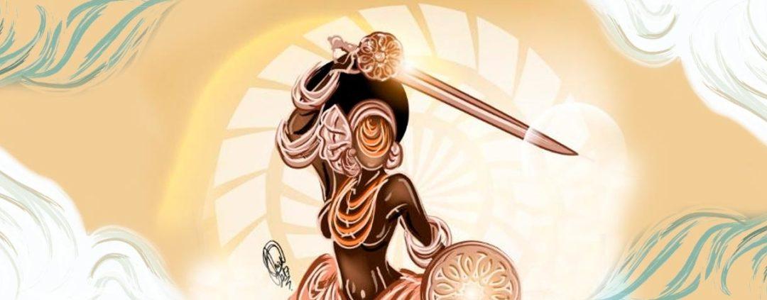 OBÁ, a deusa iorubá guerreira das águas doces revoltas, do equilíbrio e da justiça